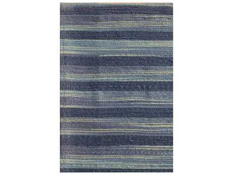 Noble House Marvel Blue Rectangular Area Rug