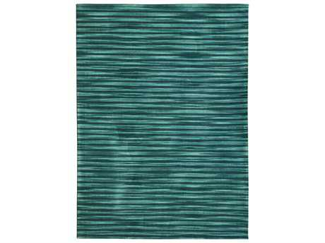 Noble House Marvel Rectangular Teal & Blue Area Rug