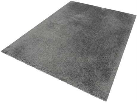 Noble House Milan Silver Rectangular Area Rug