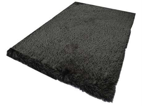 Noble House Milan Charcoal Rectangular Area Rug