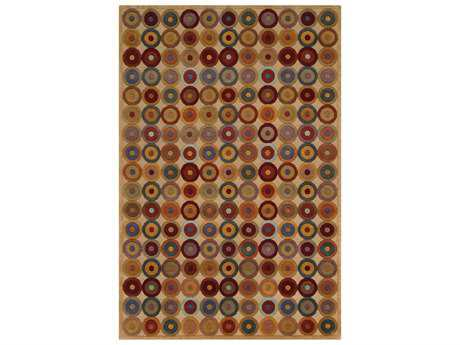 Noble House Noble Rectangular Beige Area Rug
