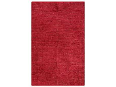 Noble House Pico Rectangular Red Area Rug