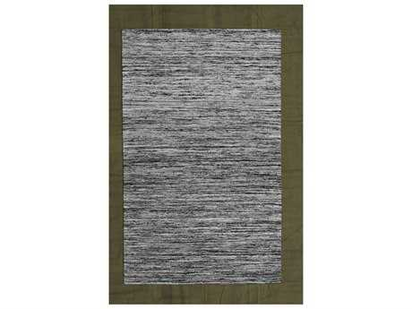 Noble House Rainbow Black & White Rectangular Area Rug