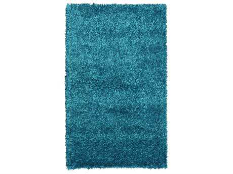 Noble House Sahara Rectangular Turquoise Area Rug