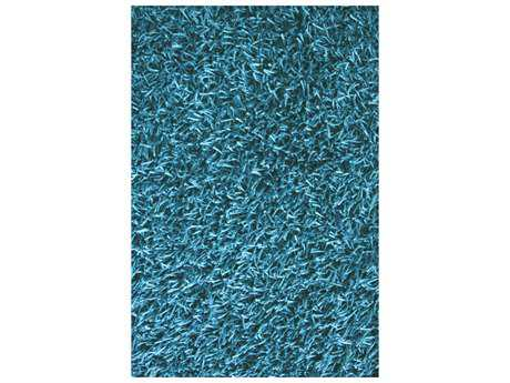 Noble House Sahara Turquoise Rectangular Area Rug