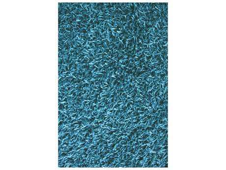 Noble House Sahara Rectangular Turquoise Area Rug