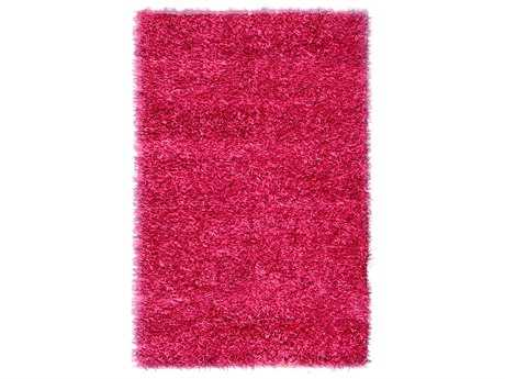 Noble House Sahara Rectangular Hot Pink Area Rug
