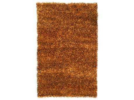Noble House Sheen Rectangular Copper Area Rug