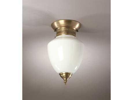 Northeast Lantern Vintage8'' Wide Semi-Flush Mount Light