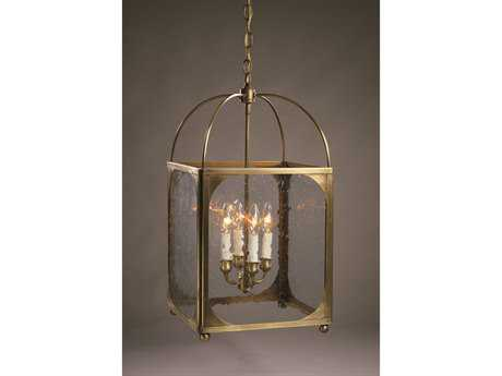 Northeast Lantern Four-Light 13'' Wide Pendant Light