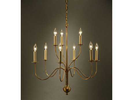 Northeast Lantern Nine-Light 27'' Wide Chandelier