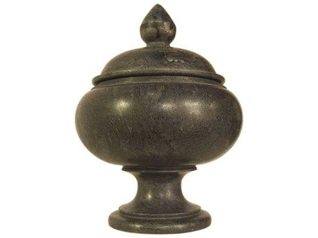Noir Furniture Large Black Marble Urn