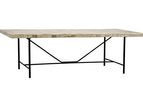 Noir Furniture Calm Onyx 60'' x 25'' Rectangular Coffee Table