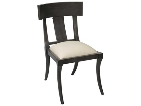 Noir Furniture Dining Pale / Off White Canvas Side Chair
