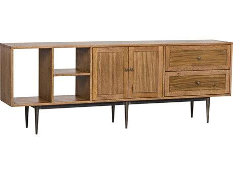 Noir Furniture Kananga Walnut & Metal 84'' x 15'' Sideboard