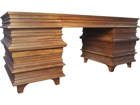 Noir Furniture Bernard Dark Walnut 72.5'' x 30.5'' Computer Desk