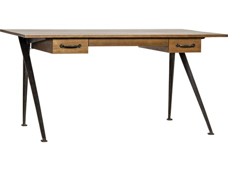 Noir Furniture Kool Walnut 60'' x 33'' Secretary Desk