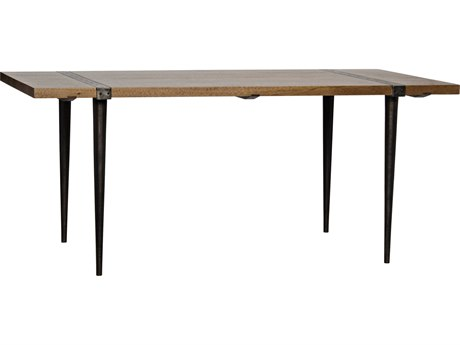 Noir Furniture Mash Dark Walnut 72'' x 36'' Secretary Desk