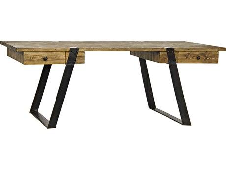 Noir Furniture Azura Old Wood 82'' x 34'' Secretary Desk