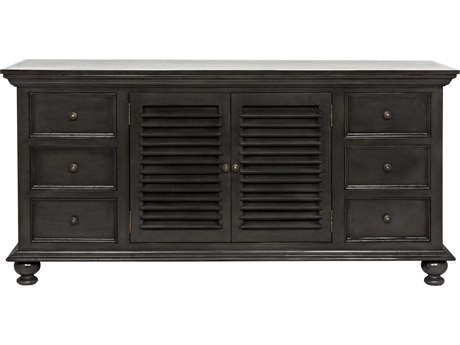 Noir Furniture Shutter Pale 72'' x 23''  Flat Screen Console