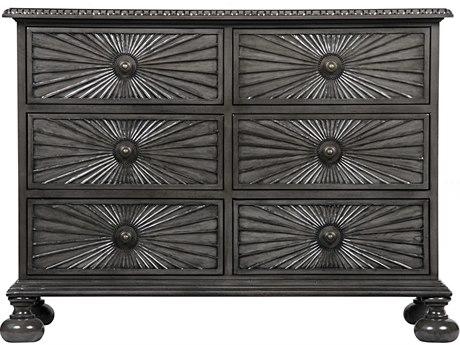 Noir Furniture Starburst Pale Six-Drawer Single Dresser