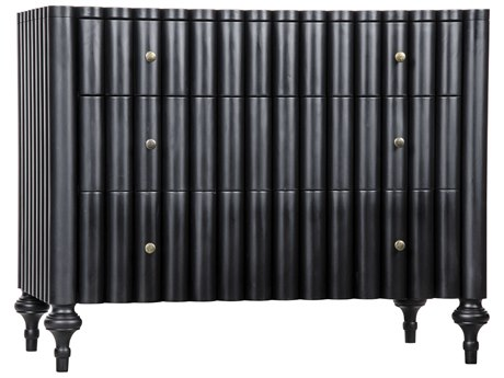 Noir Furniture Givenchy Black 41'' x 23.5'' Sideboard