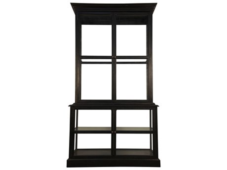 Noir Furniture Museo Hand Rubbed Black 46.5'' x 24'' China Cabinet