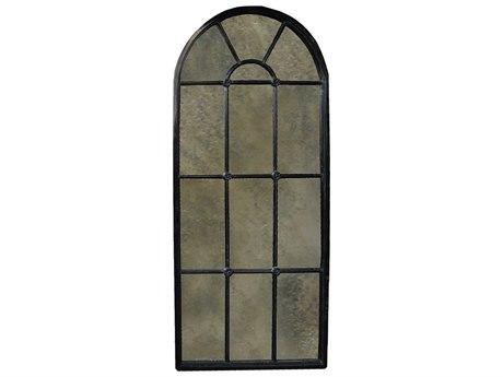 Noir Furniture Hand Rubbed Black 36'' x 79'' Door Mirror