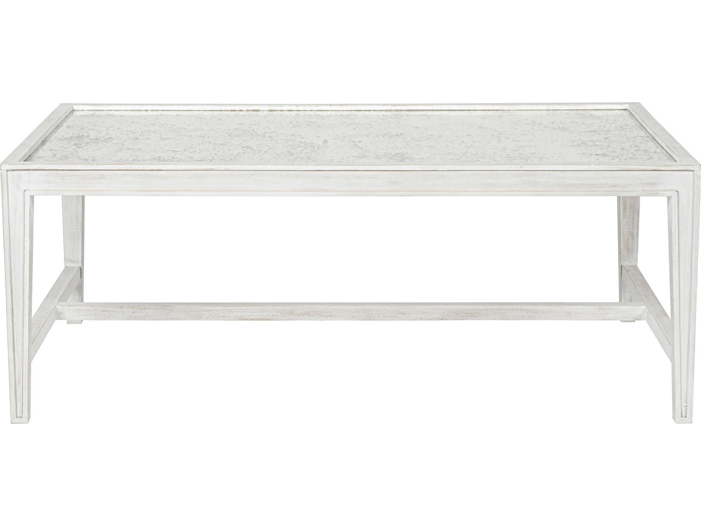 Noir Furniture Imperial White Wash 48'' X 30'' Rectangular