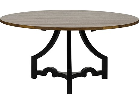 Noir Furniture Bran Dark Walnut 60'' Round Dining Table