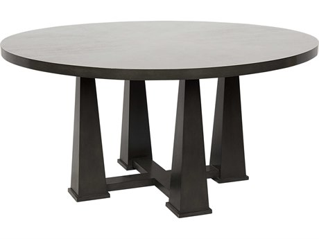 Noir Furniture Pillar Pale 60'' Round Dining Table