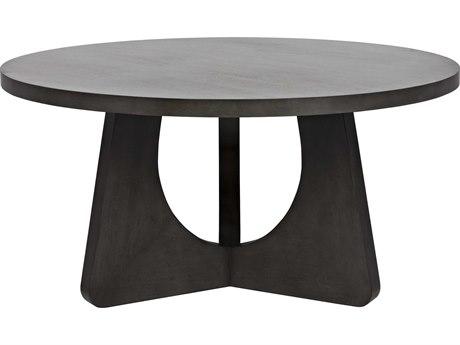 Noir Furniture Nobuko Pale 60'' Round Dining Table