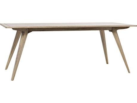 Noir Furniture Rako Washed Walnut 80'' x 35'' Rectangular Dining Table