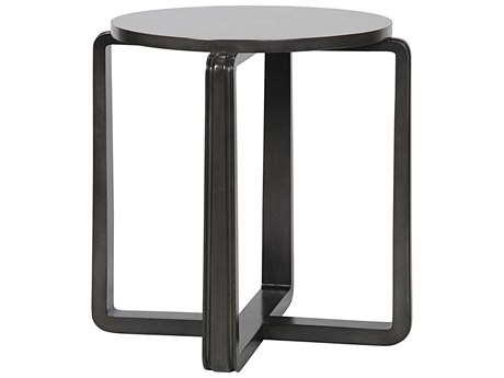 Noir Furniture Basilia Pale 28'' Round Foyer Table