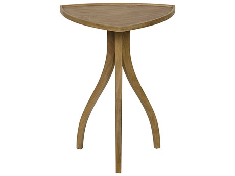 Noir Furniture Alanis Teak 22'' x 22 Side Table