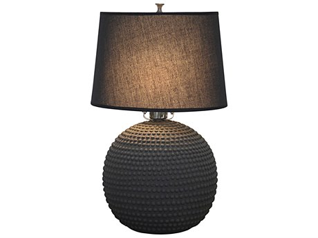 Noir Furniture Urchin Beton Small Table Lamp
