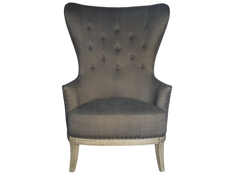 Noir Furniture Aaron Dusk Accent Chair
