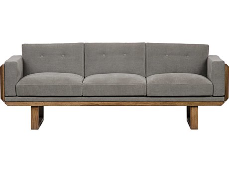 Noir Furniture Alfie Grey Sofa