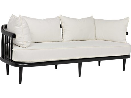 Noir Furniture Windsor Off White Cotton Sofa