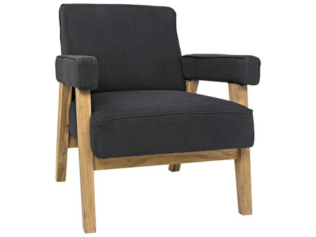 Noir Furniture Linus Black Accent Chair