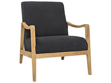 Noir Furniture Malaki Black Accent Chair