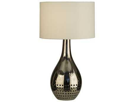 Nova Perf Chrome Two-Light Table Lamp