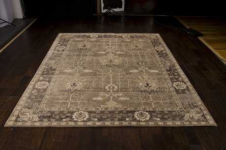 Nourison Aldora Rectangular Opal Grey Area Rug