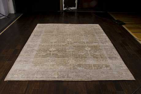 Nourison Aldora Rectangular Pewter Area Rug