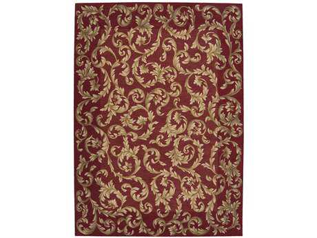 Nourison Ashton House Rectangular Sienna Area Rug