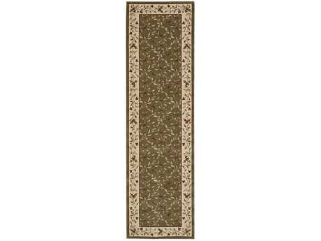 Nourison Ashton House Runner Olive Area Rug