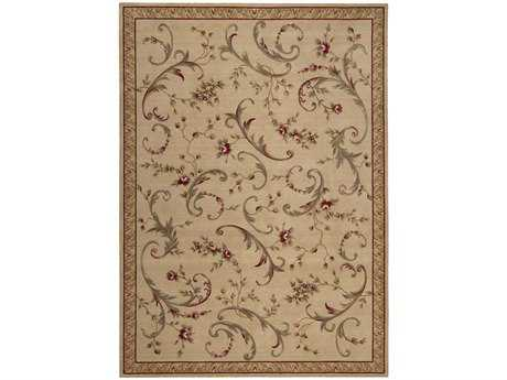 Nourison Ashton House Rectangular Beige Area Rug