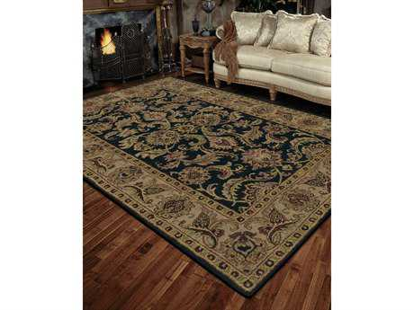 Nourison India House Rectangular Black Area Rug