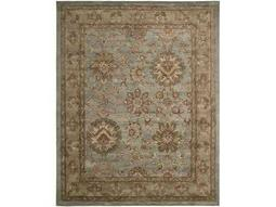Jaipur Rectangular Aqua Area Rug