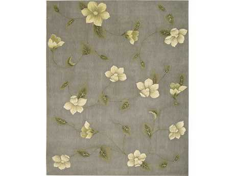 Nourison Julian Rectangular Grey Area Rug